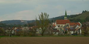 Unterjesingen - View of Unterjesingen