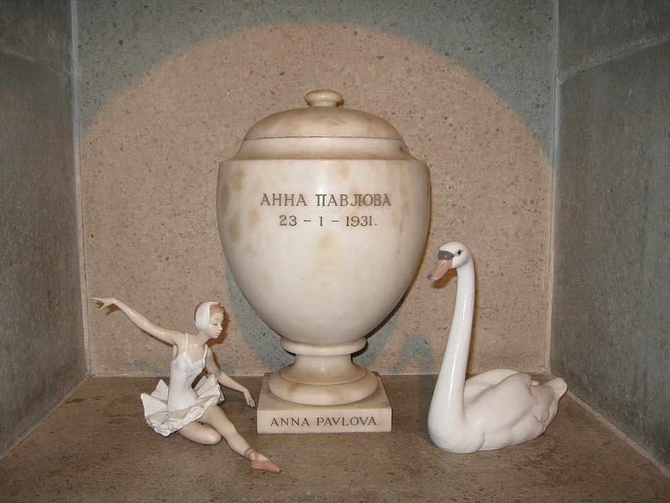 Urn of Anna Pavlova