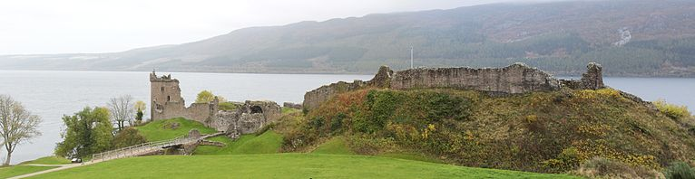 Panorama of the Urquhart Castle