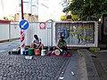 Václavské náměstí, dvojice s bicími nástroji.jpg