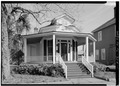 VIEW OF SOUTH (FRONT) FACADE - Steamboat House, 308 East Government Street, Pensacola, Escambia County, FL HABS FLA,17-PENSA,41-1.tif