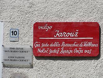Oeconym - Image: Valbruna Italy Oeconym