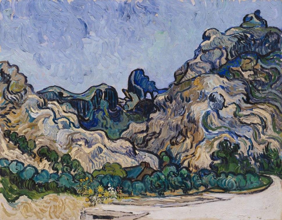 Van Gogh - Berglandschaft in Saint-Rémy.jpeg