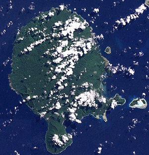 Vanua Lava satellite image
