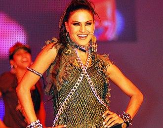 Veena Malik - Veena Malik at the Lux Style Awards 2007.