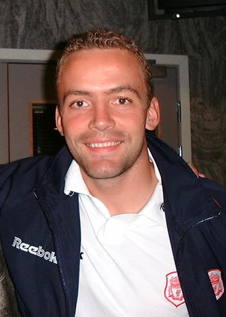 Vegard Heggem - Heggem with Liverpool in 1999