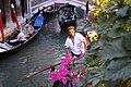 Venetian gondolier.JPG
