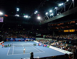 Venus Williams vs Ana Ivanovic @ Zurich Open 2008, Hallenstadion.jpg