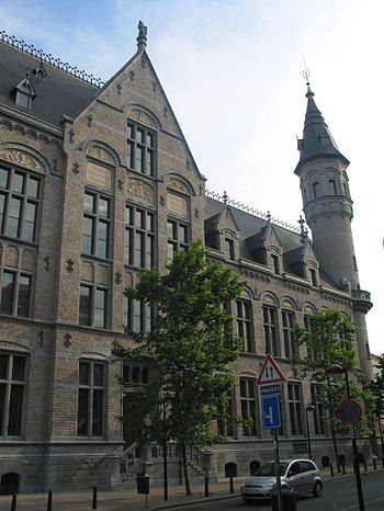"Verviers (Belgium), the ""Grand'Poste""..."