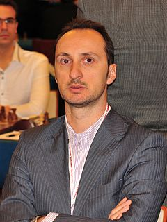 Veselin Topalov Bulgarian chess grandmaster