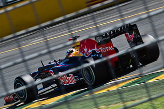 Red Bull RB8 - The RB8 debuted at the Australian Grand Prix and scored a podium in the hands of Sebastian Vettel.