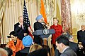 Vice-President Biden, Secretary Clinton Co-Host Social Lunch in Honor of Indian Prime Minister (4373962402).jpg