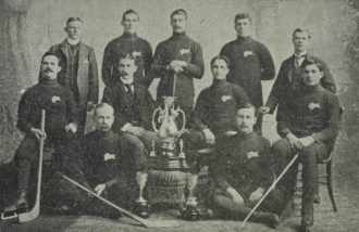 Winnipeg Victorias - Team picture, 1899