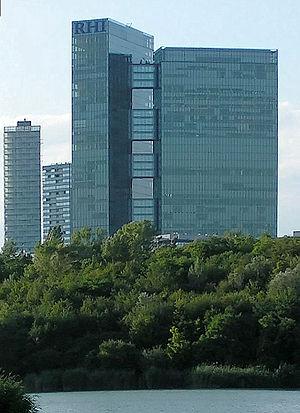 Massimiliano Fuksas - Twin Tower, Vienna