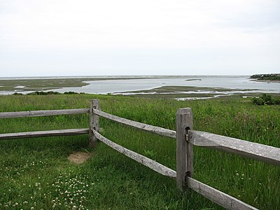 Fort Hill Rural Historic District on the Cape Cod National Seashore in Eastham