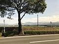 View of Mount Asosan near Kumamoto Airport.jpg