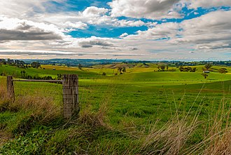 Strzelecki Ranges - Image: View of Strzelecki Ranges