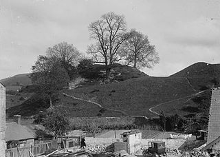 View of hills, Llandovery