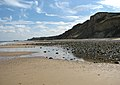 View towards Cromer from East Runton beach - geograph.org.uk - 1479091.jpg