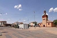 Villafranca de los Caballeros, Plaza de España.jpg