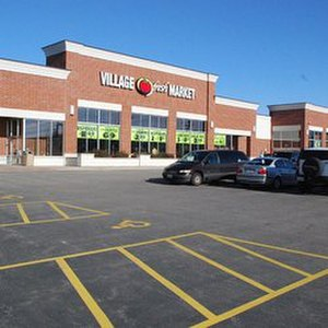 Carpentersville, Illinois - Village Fresh Market replaced a Jewel Osco and caters Mexican grocery goods to the Hispanic population and others in the community.