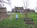 Village pub, sign, waste bin, and bench. - geograph.org.uk - 305050.jpg