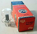Vintage RCA 826 Transmitting Triode Vacuum Tube, Produced for the U.S. Army, NOS, Circa 1943 (10536664334).jpg