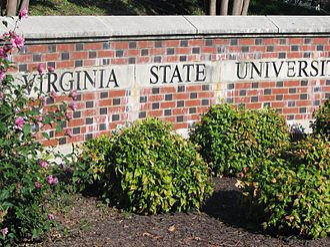 Virginia State University - University entrance