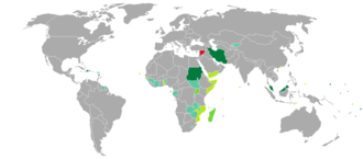 Syrian passport - Countries and territories with visa-free or visa on arrival entry for holders of regular Syrian passports
