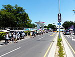 Visitors Walking into Tainan Air Foce Base in Noon 20130810.jpg