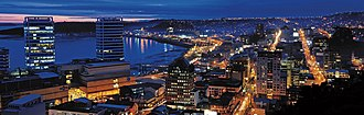 Puerto Montt - Nocturnal view.