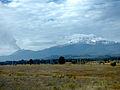 Vista del Iztaccíhuatl desde la autopista México-Puebla. 06.JPG