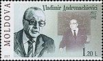 Vladimir Andrunakievich 2017 stamp of Moldova.jpg