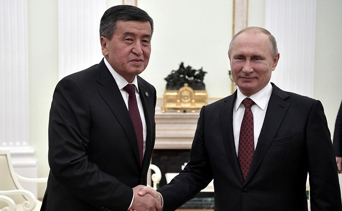 President Sooronbay Jeenbekov 98