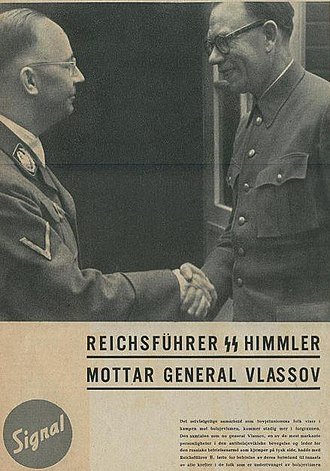 Pursuit of Nazi collaborators - Andrey Vlasov and Himmler