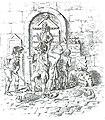 Volkswoede in 1795. De burgers van Leeuwarden vernielen de graven van het Huis Nassau-Diez.jpg