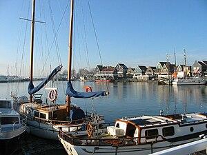 Edam-Volendam - The harbour at Volendam