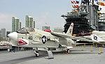 Vought F-8K Crusader, Midway Museum, San Diego, California (1).jpg