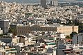 Vouli greek Parliament Athens Greece from Acropolis.jpg