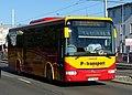 Vysočany, Poděbradská, U Elektry, autobus P-transport (01).jpg