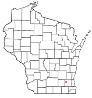 Location of Summit, Waukesha County, Wisconsin