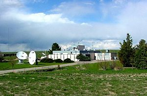 WWV (radio station) - WWV Transmitter Building (2002 or earlier)