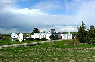 WWV (radio station) - WWV Transmitter Building (2002 or earlier)