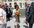 W drugim dniu wizyty Małżonka Prezydenta RP odwiedziła Centrum Mugam.jpg