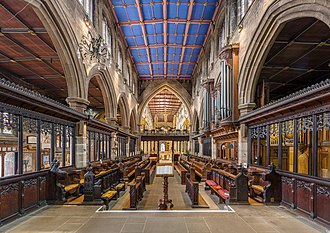 Wakefield Cathedral - The choir