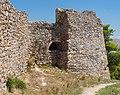 Wall structure from outside, Karababa castle, Chalkida, Greece.jpg