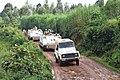 Walungu, Sud Kivu, RD Congo- Une patrouille de domination de terrain à l'aide de véhicules blindés de transport de troupes dans le cadre de la protection des civils par la MONUSCO dans une localité reculée du Sud Kivu.jpg