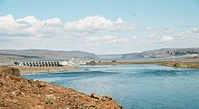 Wanapum Dam from West Shore - downstream 10360031.jpg