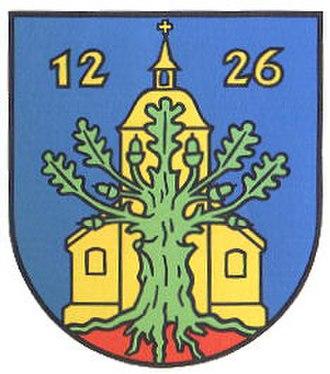 Adenbüttel - Image: Wappen der Gemeinde Adenbuettel
