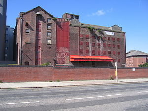 Grade II listed buildings in Liverpool-L1 - Heap's Rice Mill